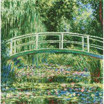 Kit point de croix - Toison d'or - Les Nymphéas d'après Monet