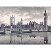 Kit point de croix - Toison d'or - Autour du monde : Londres