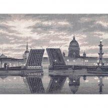 Kit point de croix - Toison d'or - Autour du monde : Saint Petersbourg