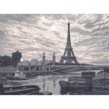 Kit point de croix - Toison d'or - Autour du monde : Paris