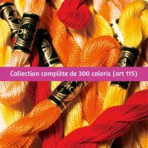 Fil à broder - DMC - Collection complète Perlé (25m)  - Art. 115