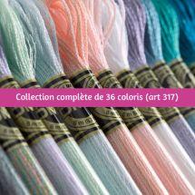 Fil à broder - DMC - Collection complète Mouliné Effet lumière - Art. 317