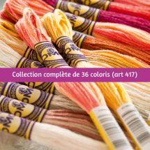 Fil à broder - DMC - Collection complète Color Variation - Art. 417