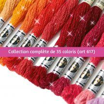 Fil à broder - DMC - Collection complète Mouliné Etoile - Art 617 -