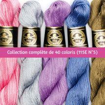 Fil à broder - DMC - Collection complète N°5 spécial Hardanger - 115EA