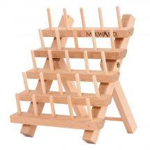 Porte-bobines - Milward - Porte-bobines en bois (pour 25 bobines)