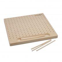 Métier à tisser - Milward - Planche métier à tisser bois - 12 picots