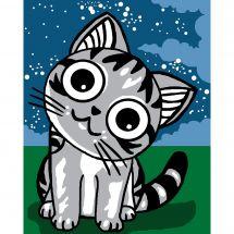 Kit de canevas pour enfant - Luc Créations - Petit chat