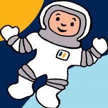 Kit de canevas pour enfant - Luc Créations - Astronaute