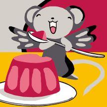 Kit de canevas pour enfant - Luc Créations - Crème dessert