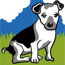Kit de canevas pour enfant - Luc Créations - Le chien