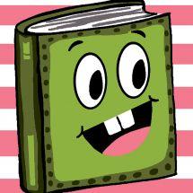 Kit de canevas pour enfant - Luc Créations - Livre vert