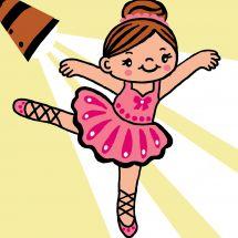Kit de canevas pour enfant - Luc Créations - Danseuse ballerine