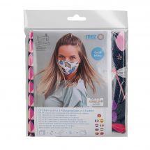 Kit couture - LMC - Kit confection pour 3 masques - N°2