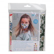 Kit couture - LMC - Kit confection pour 3 masques - N°3