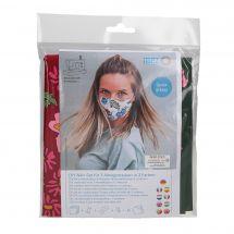 Kit couture - LMC - Kit confection pour 3 masques - N°4