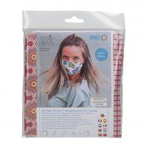 Kit couture - LMC - Kit confection pour 3 masques - N°8