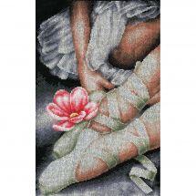 Kit point de croix - Lanarte - Mes chaussures de ballerine