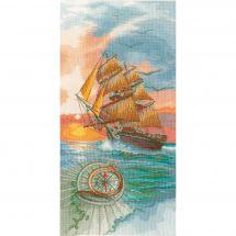 Kit point de croix - Lanarte - Voyage de découverte