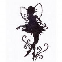 Kit point de croix - Lanarte - Jolie petite silhouette de fée