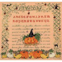Kit point de croix - Le Bonheur des Dames - Octobre