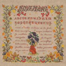 Kit point de croix - Le Bonheur des Dames - Novembre