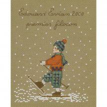 Kit point de croix - Le Bonheur des Dames - Premier flocon