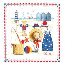 Kit point de croix - Le Bonheur des Dames - Accessoires mer