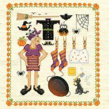 Kit point de croix - Le Bonheur des Dames - Accessoires sorcière