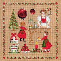 Kit point de croix - Le Bonheur des Dames - Accessoires Noël