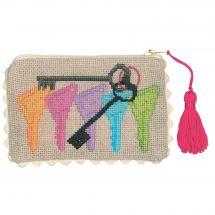 Kit de trousse à broder - Le Bonheur des Dames - Les clefs