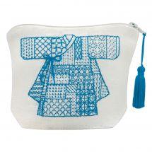 Kit de trousse à broder - Le Bonheur des Dames - Kimono