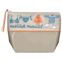 Kit de trousse à broder - Le Bonheur des Dames - Maillot mouillé