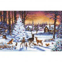 Kit point de croix - Letistitch - Bois de Noël