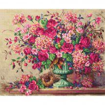 Kit point de croix - Letistitch - Composition florale
