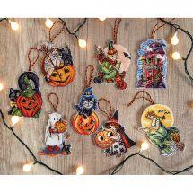 Kit d'ornement à broder - Letistitch - Kit figurines de Halloween