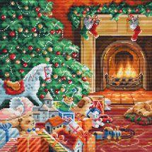 Kit point de croix - Letistitch - Noël chaleureux