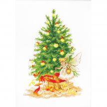 Kit point de croix - Luca-S - Arbre de Noël