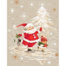 Kit point de croix - Luca-S - Santa Claus