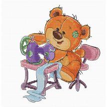 Kit point de croix - Luca-S - Teddy Bear