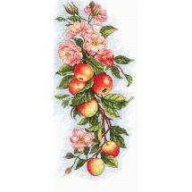 Kit point de croix - Luca-S - Composition de pommes
