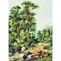 Kit point de croix - Luca-S - Rivière en montagne