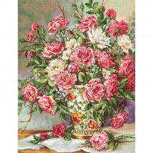 Kit point de croix - Luca-S - Des fleurs pour la princesse
