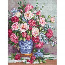 Kit point de croix - Luca-S - Les roses de sa majesté