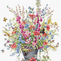 Kit point de croix - Luca-S - Bouquet de Juin