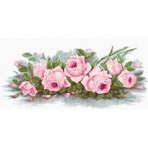 Kit point de croix - Luca-S - Roses romantiques