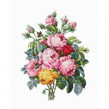 Kit point de croix - Luca-S - Roses