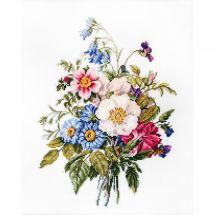Kit point de croix - Luca-S - Bouquet de fleurs d'été