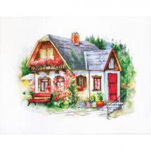 Kit point de croix - Luca-S - Jolie maison de campagne
