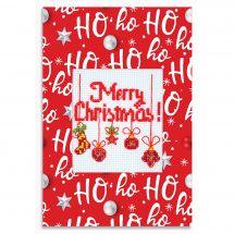Kit de carte à broder  - Luca-S - Merry Christmas